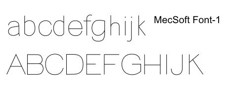 Single line ttf free font Free Single